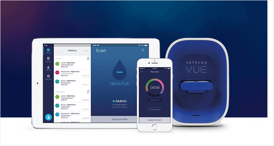 vet clinic smart devices