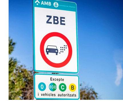 señal zbe barcelona